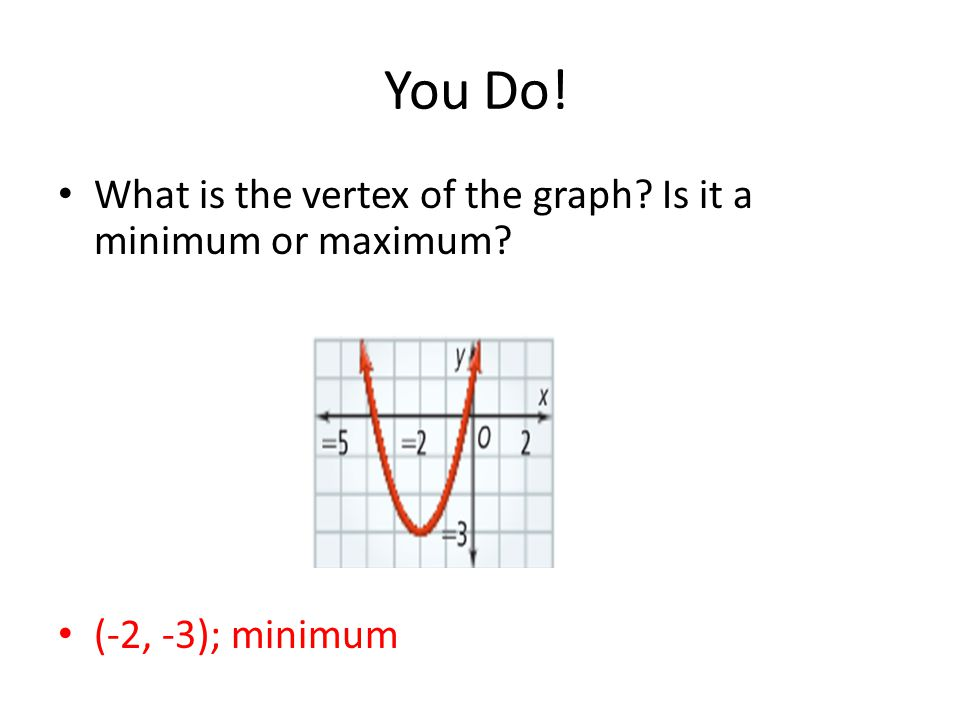 Quadratic Function Examples Do Now! Evaluate each ...