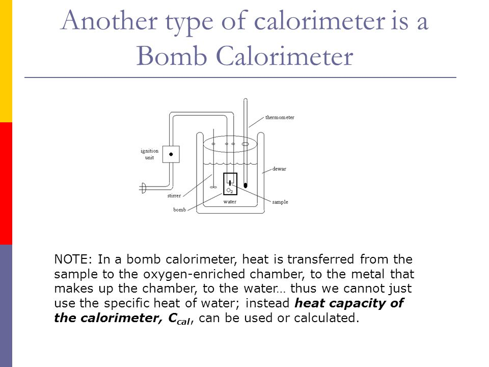 how to calculate enthalpy change bomb calorimeter