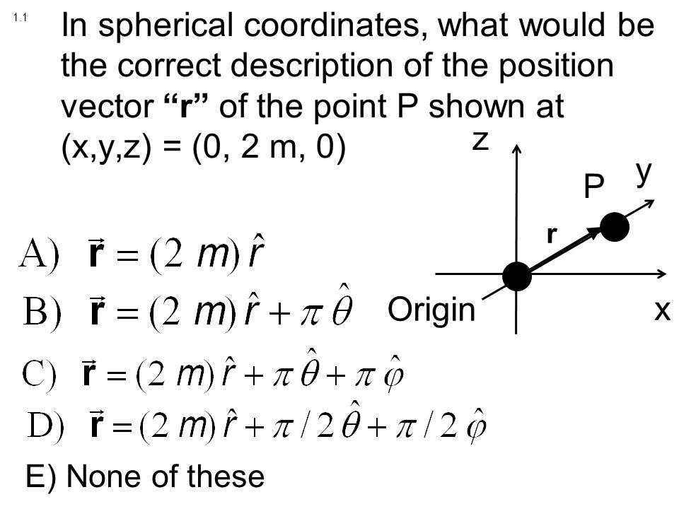 how to find out theta and phi in spherical coordinates