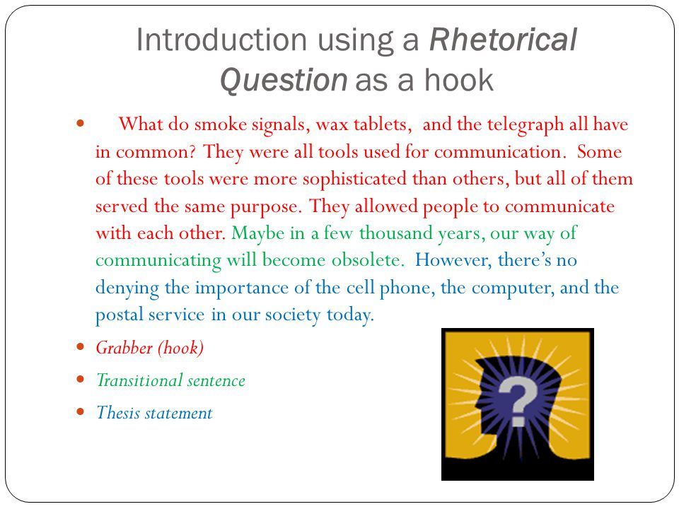 Rhetorical analysis in a common tavern