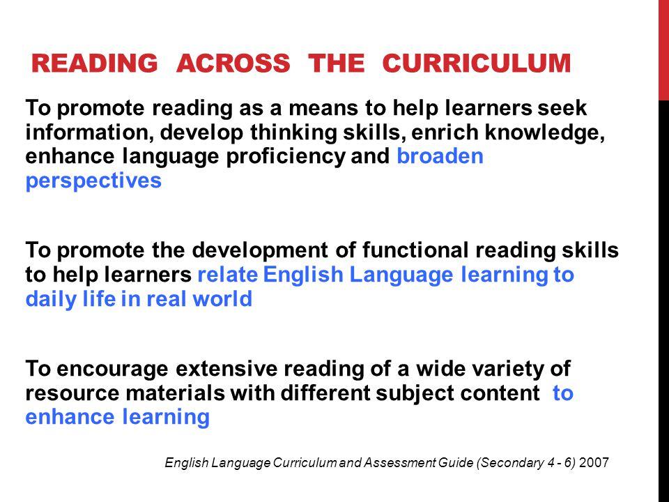 Reading across the Curriculum