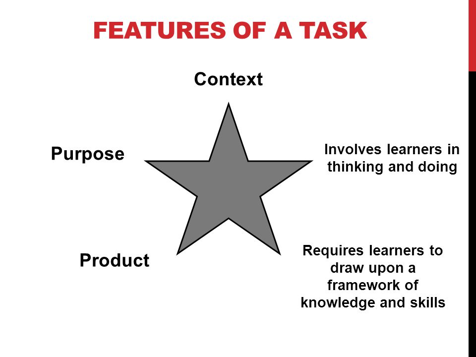 Involves learners in thinking and doing
