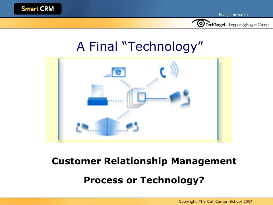customer relationship management technology