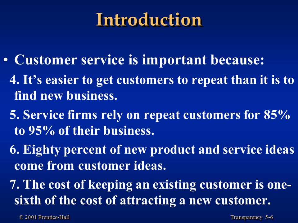 an introduction to the cost of customer service Introduction 3 strategic context – why  opportunities for customer service,  added value and new business streams introduction  energy provider, with  one of the cleanest and lowest-cost power generation fleets exelon's competitive .