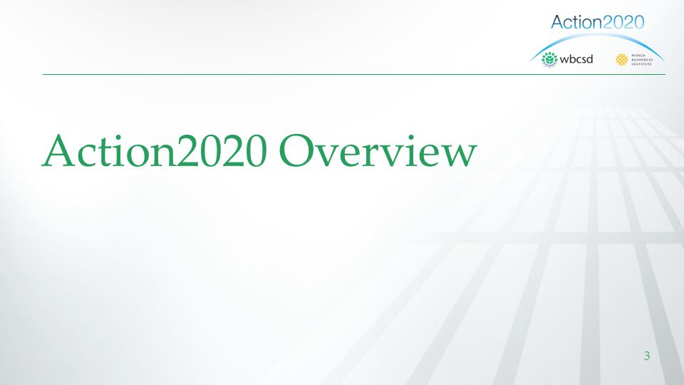 Action2020 Overview