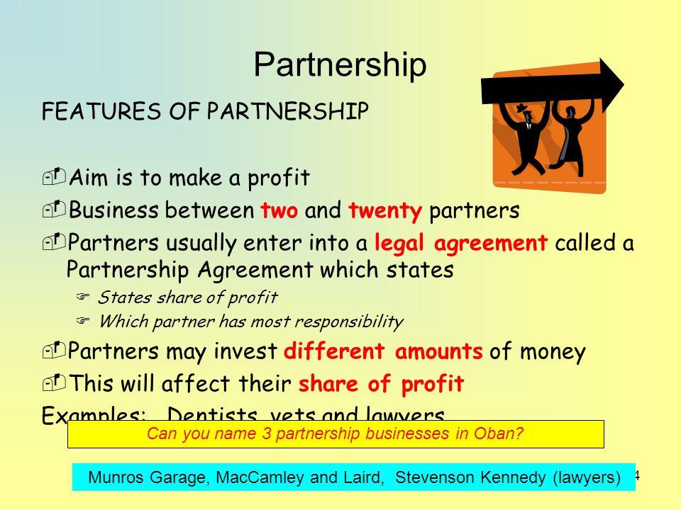 how to make a partnership agreement bizfact