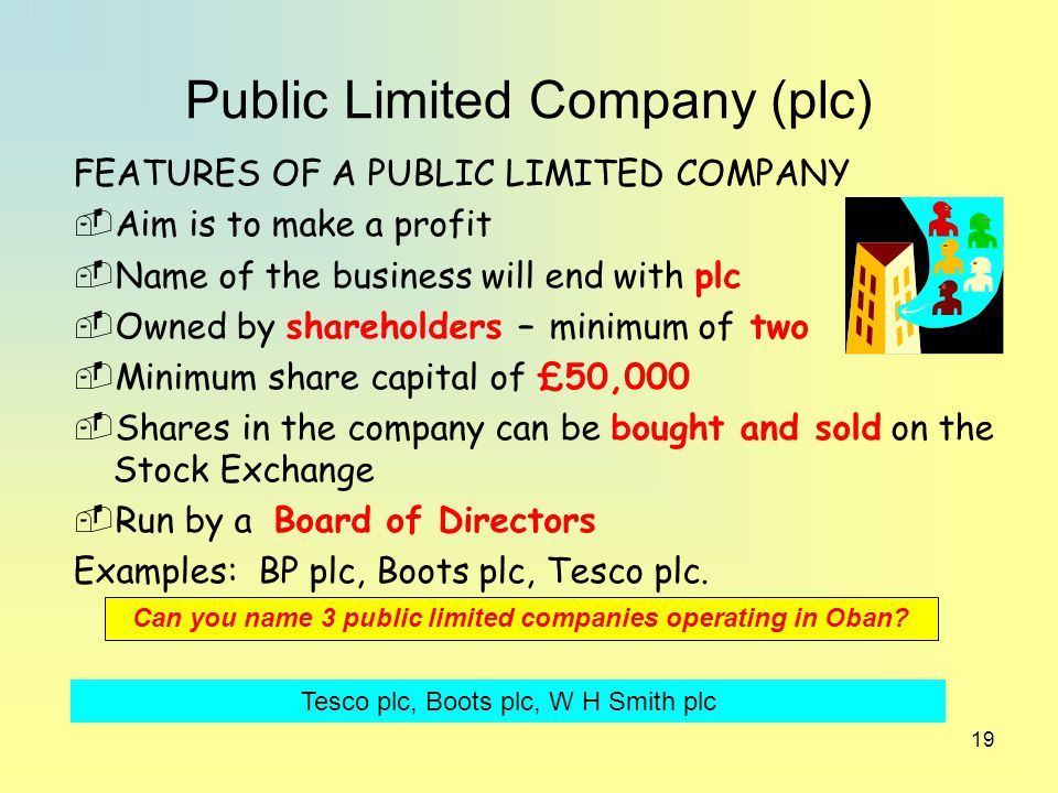 public limited companies The status of a private limited company may be altered to become a public company if: • a special resolution that it should be so re-registered is passed • certain conditions are met, and • an application for change of status is delivered to companies registry together with other required documents the company must also.
