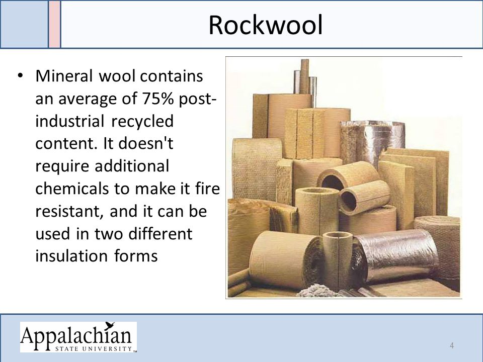 Insulating materials module 7 hour ppt video online download for Rockwool loose fill