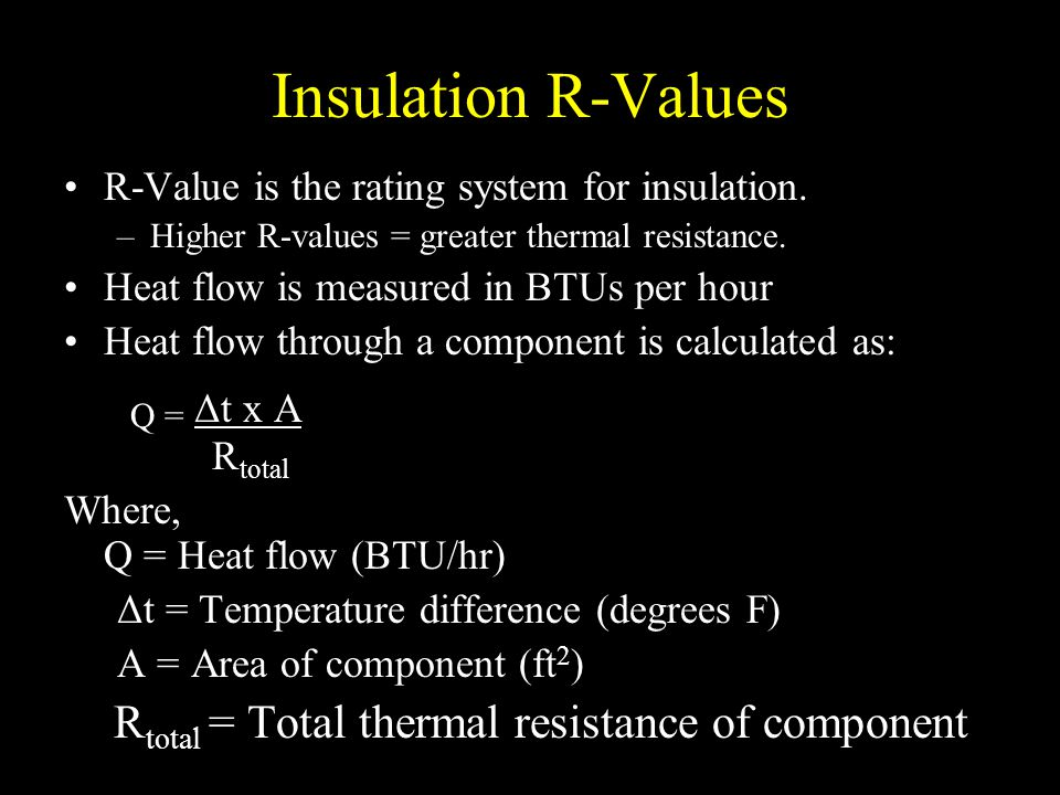 Agricultural Structures Insulation And Heat Flow Ppt