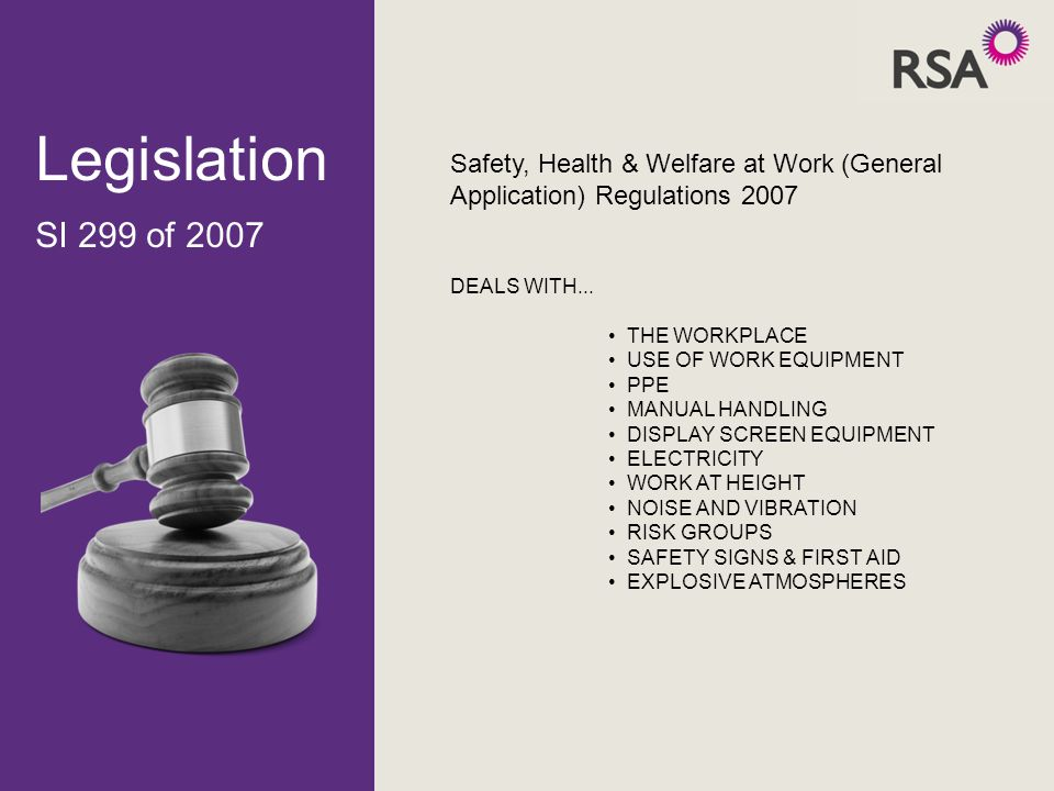 conforming to general health safety and welfare in the workplace N029118 – conforming to general health, safety and welfare in the workplace – issue 1  n029118 – conforming to general health, safety and welfare in the workplace – issue 1  responsibility for general workplace health, safety and welfare.