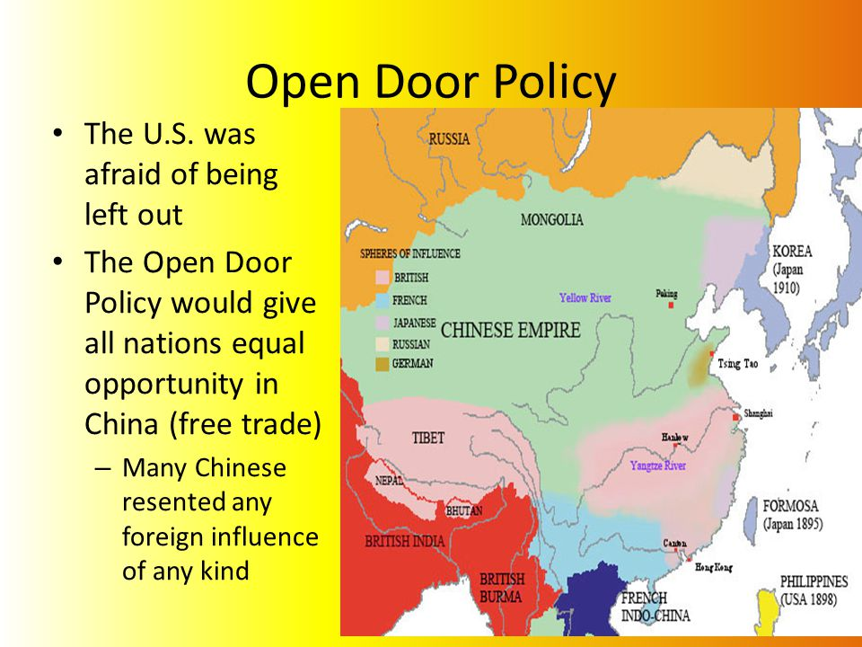 Effects To Us China Relationships With Open Door Policy Essay