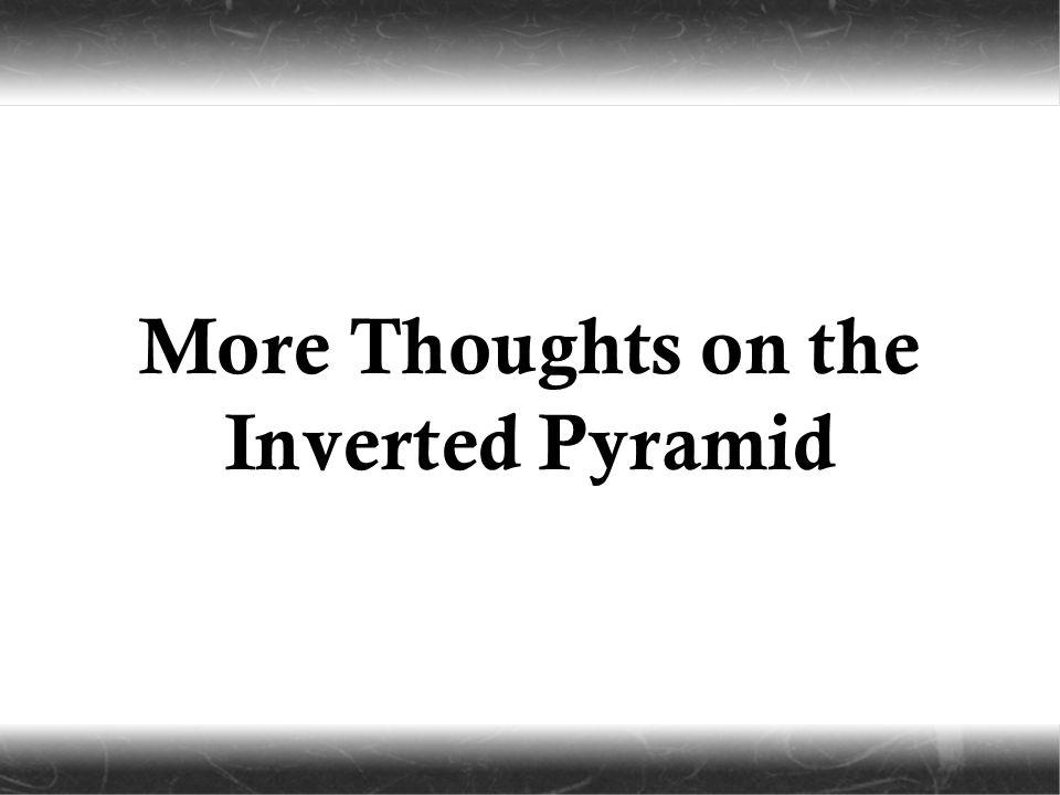 Inverted Pyramid Of Ne...