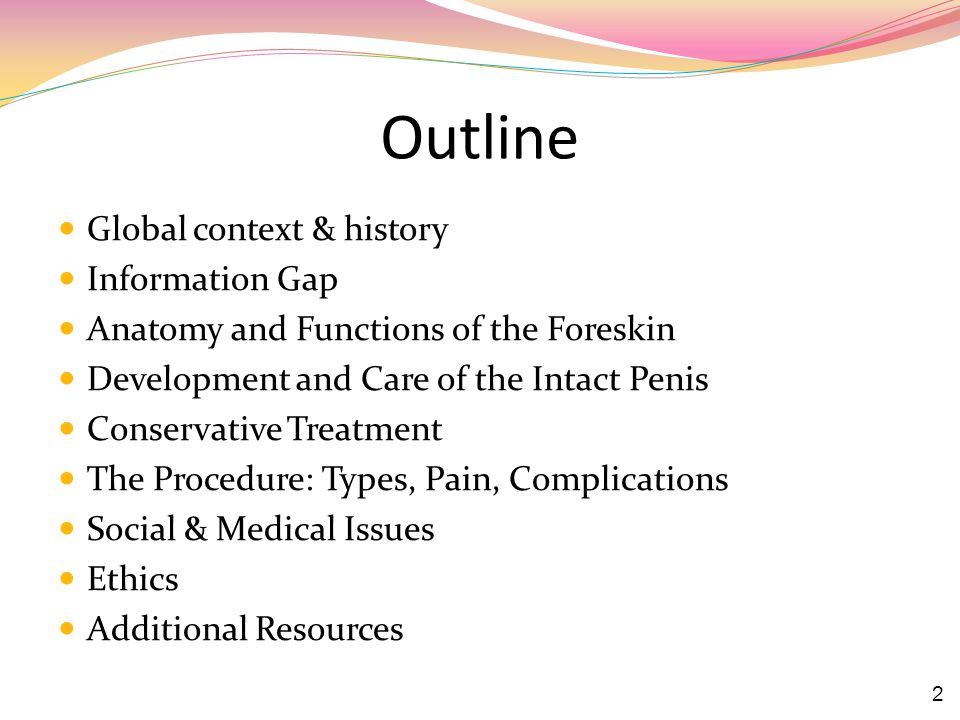 Outline Global context & history Information Gap