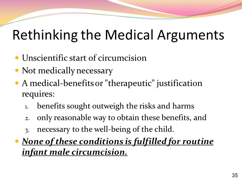 Rethinking the Medical Arguments