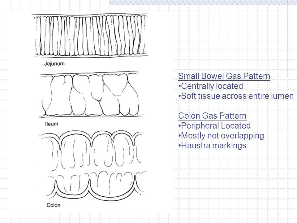 Small Bowel Gas Pattern