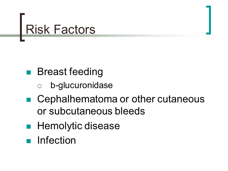 Risk Factors Breast feeding
