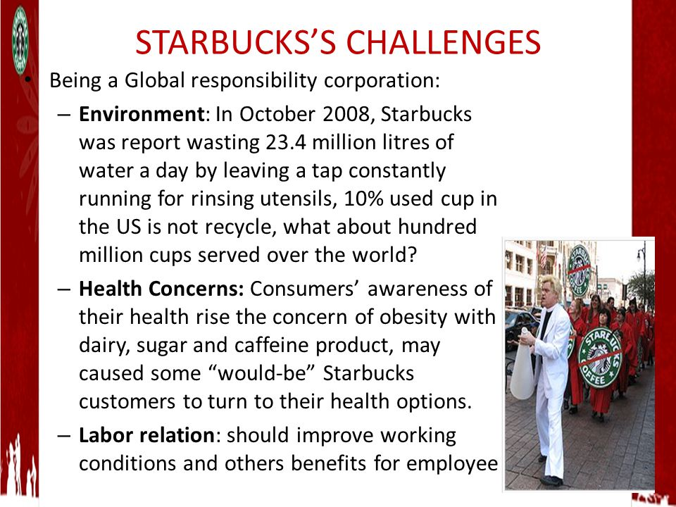 identify the controllable and uncontrollable elements that starbucks has encountered in entering glo The uncontrollable forces in a marketing  the marketing mix elements are called  in this approach to global marketing, a firm has a.