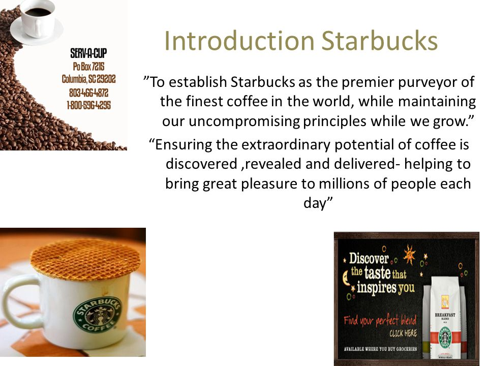an introduction to the essay on the topic of sitting at starbucks Organizational culture of starbucks essay  organizational culture of starbucks benjamin a chesney com/530 communications for accountants january 28, 2013 jon zimmerman organizational culture of starbucks starbucks coffee company is a worldwide conglomerate - organizational culture of starbucks essay introduction.
