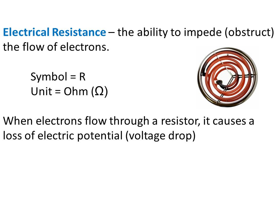 Ohms Law Snc 1d0 Monday November 29 Electrical Resistance Ppt