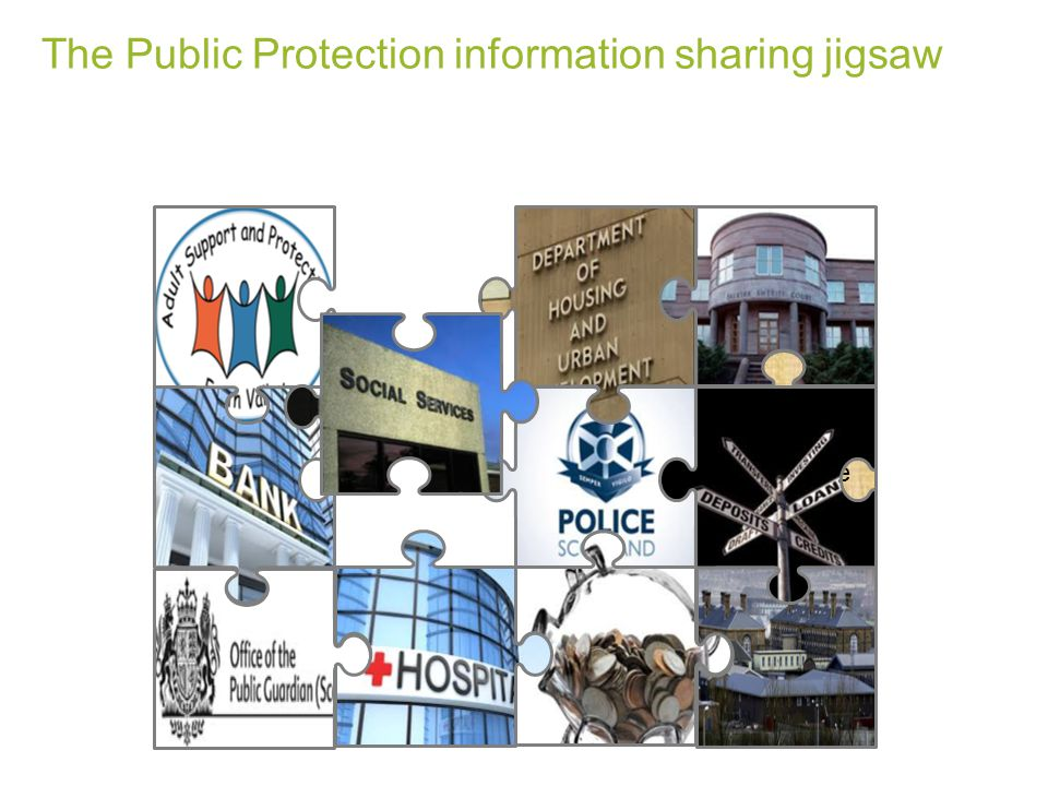 The Public Protection information sharing jigsaw