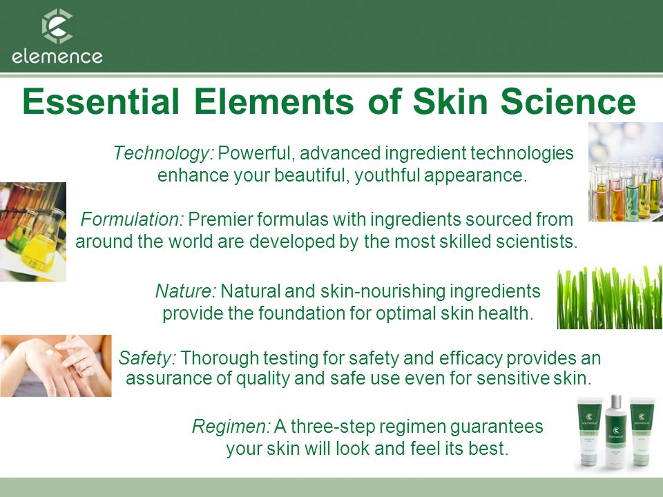 Essential Elements of Skin Science