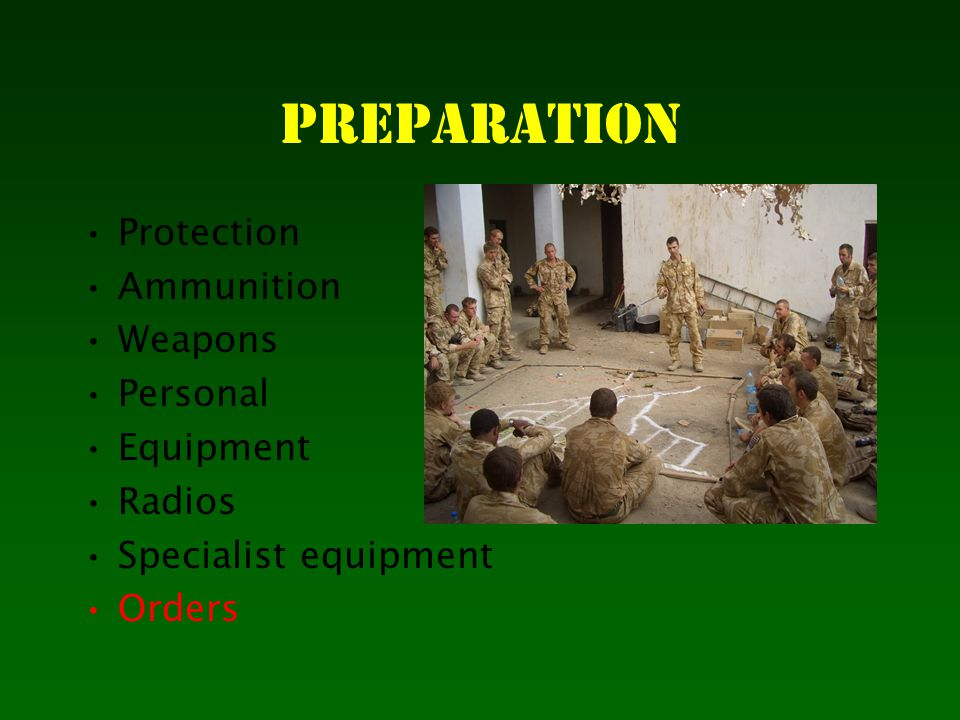 Weapons and personal protective equipment