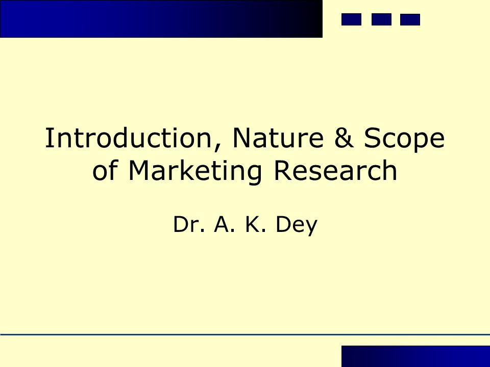 Introduction to the aspects of marketing