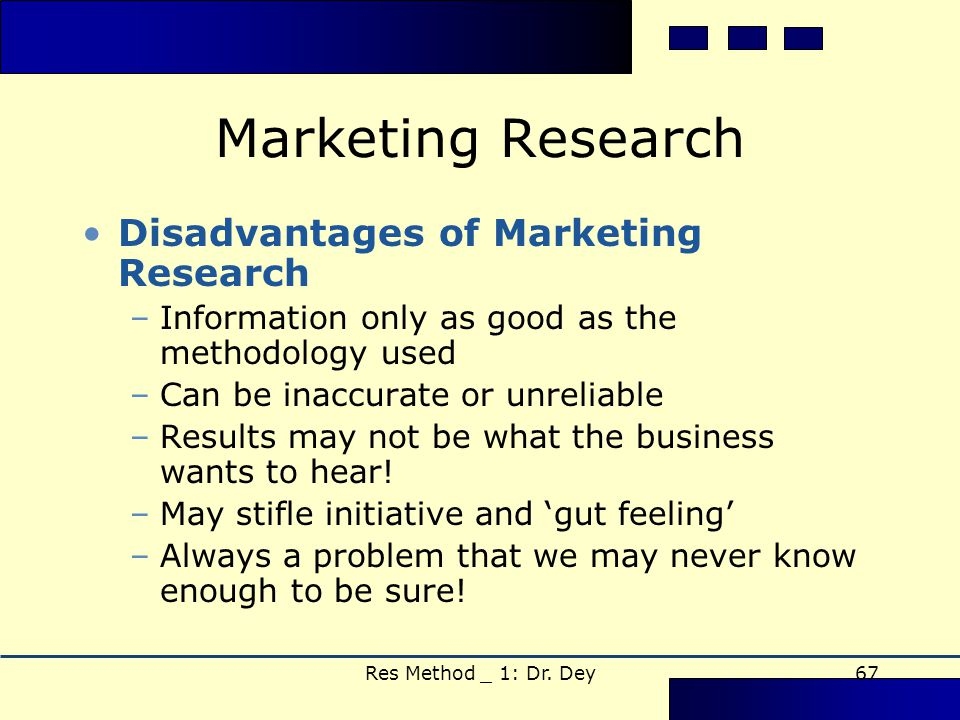 limitations of marketing research development of Strategies for new product development guidelines for a critical management fears that limitations may discourage some useful or successful inno- strategies for new product development options in the market-technology mix no technological change improved technology.