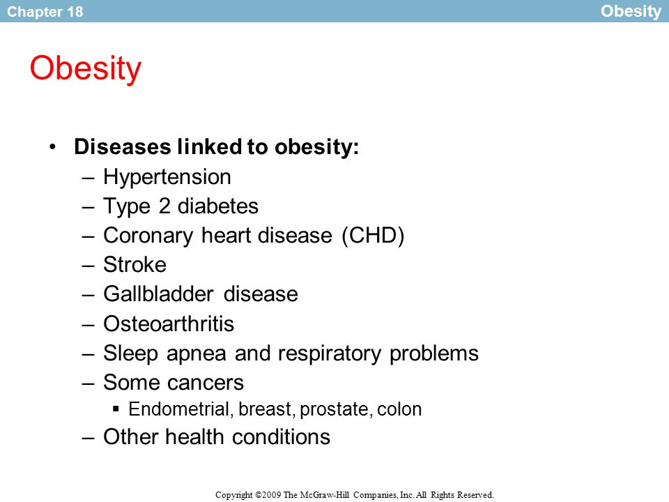 obesity and type 2 diabetes in