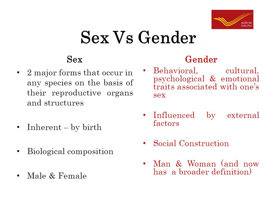 gender sex distinction This page is a resource explaining general sociological concepts of sex and gender the examples i cover are focused on experiences of otherness in sociology, we make a distinction between sex and gender.