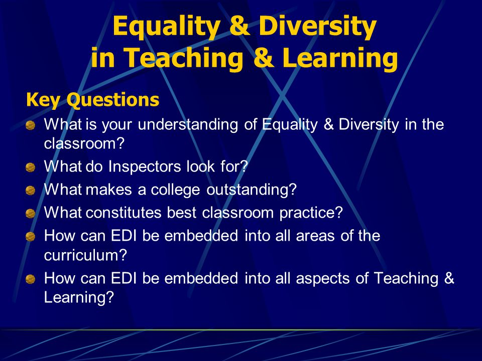equality plus assortment for a classroom