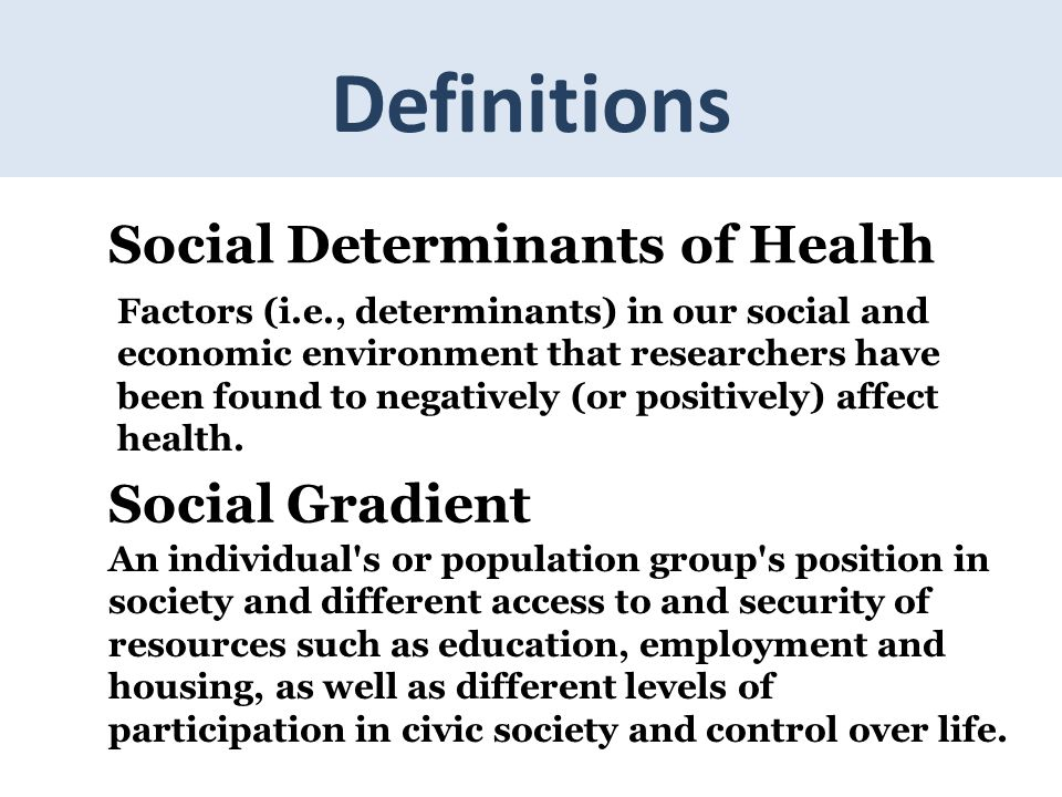 check my dissertation Social Determinants of Health