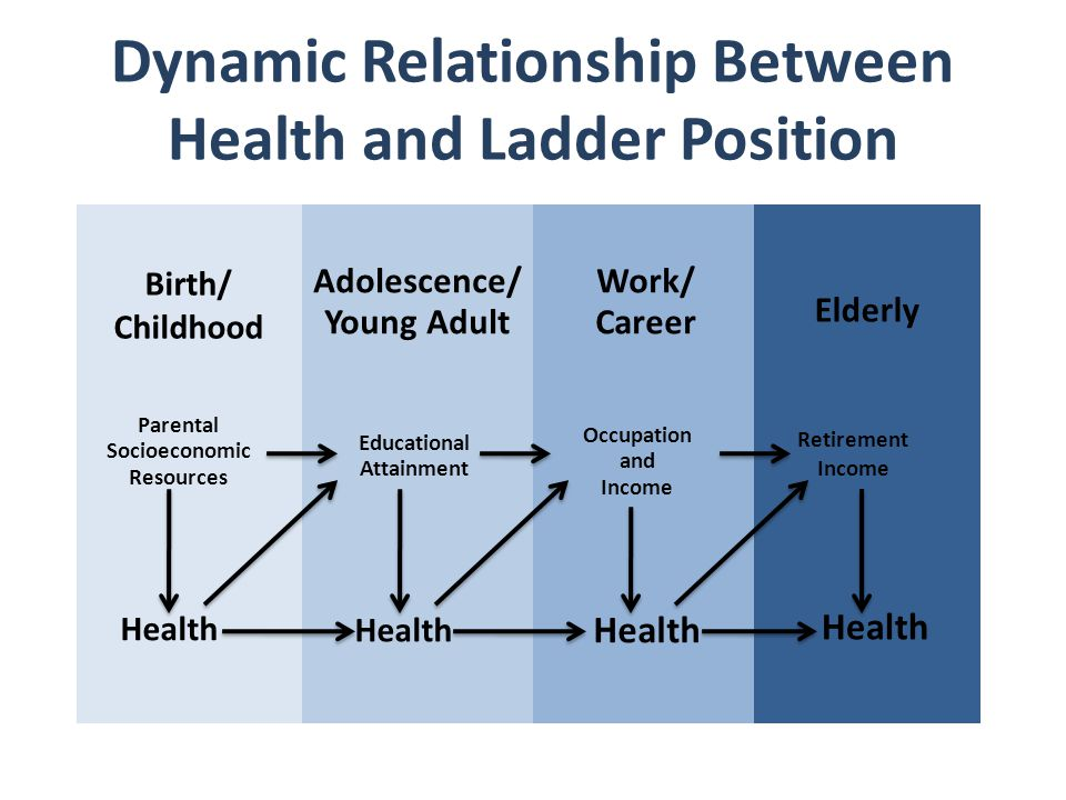 Dynamic Relationship Between Health and Ladder Position