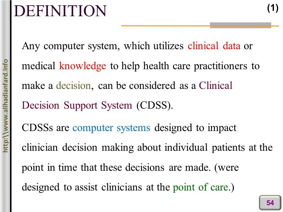 Medical Decision Making Ppt Download