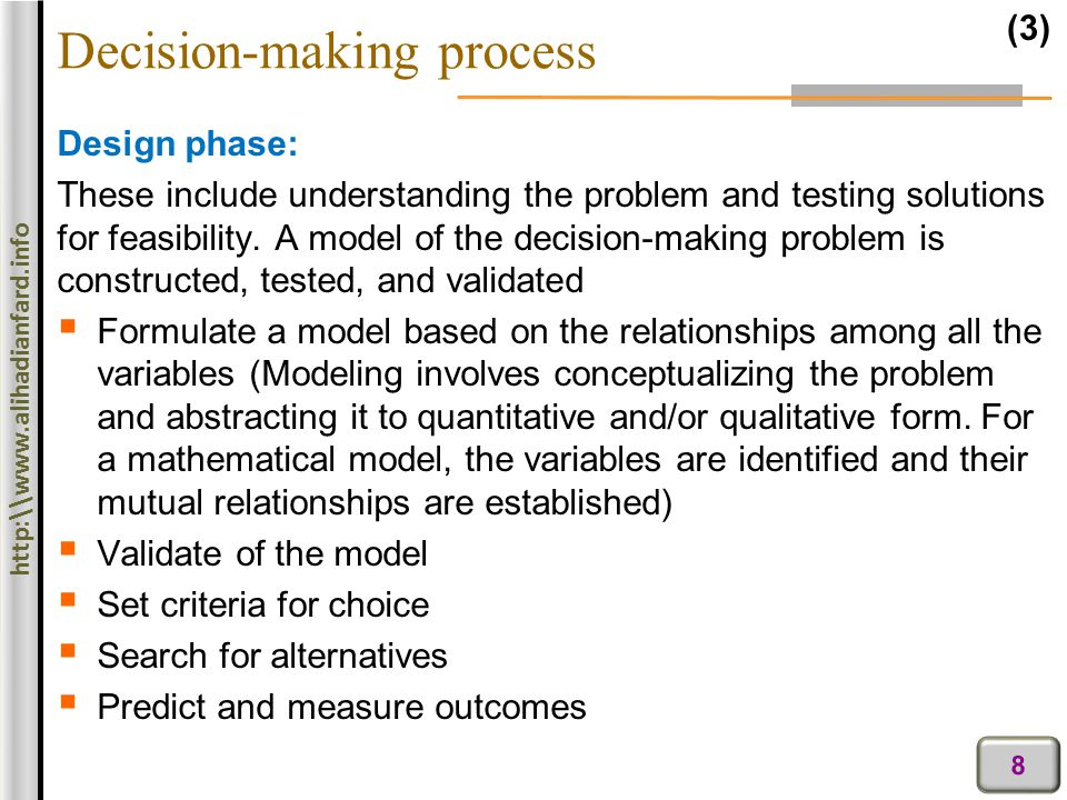 decision making process for university choice Affecting international undergraduate students' process of college selection at the   understanding of the decision-making process of international bachelor's.