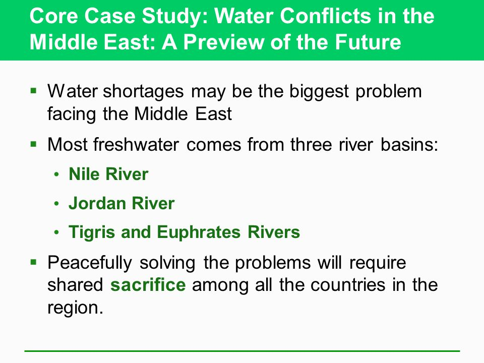 water conflict case studies Unesco – eolss sample chapters conflict resolution – vol ii - formal models for conflict resolution and case studies .