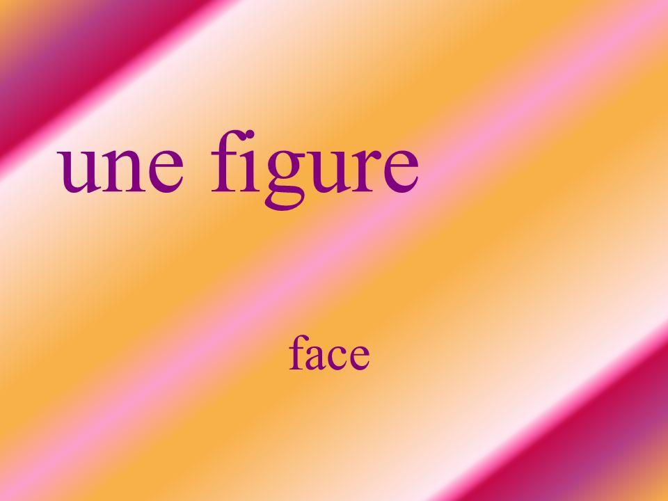 une figure face