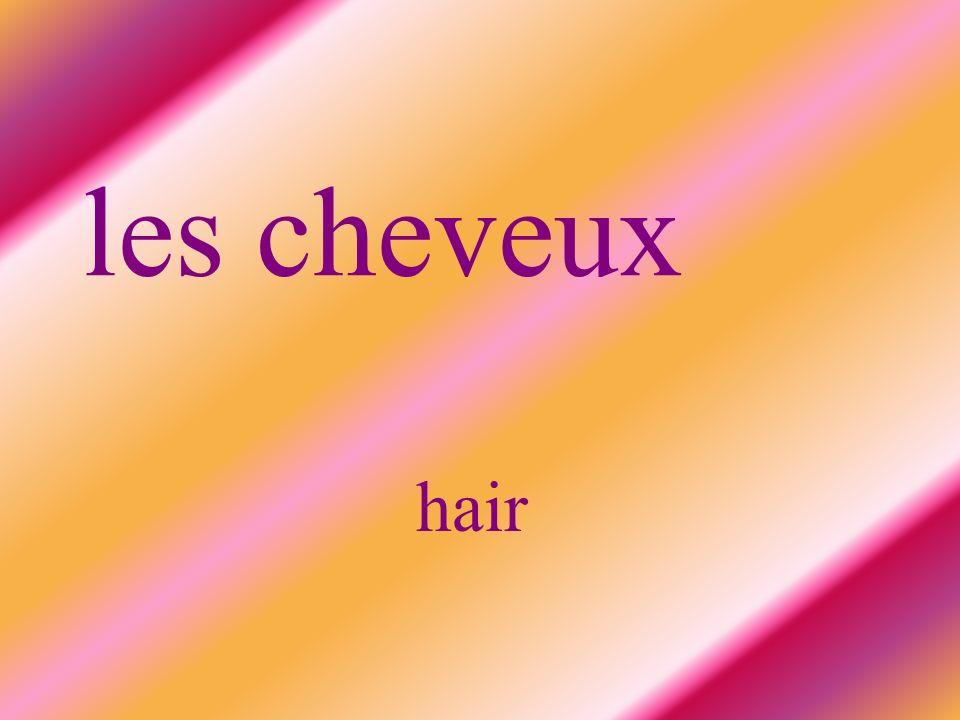 les cheveux hair