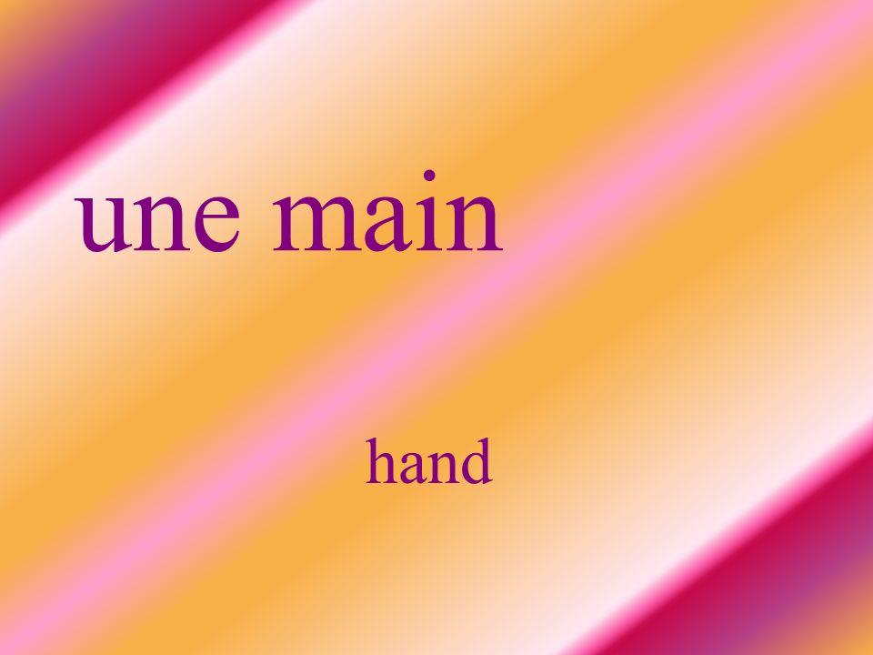 une main hand