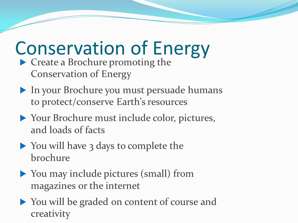 Chapter 4 earth s resources ppt download for Energy conservation facts