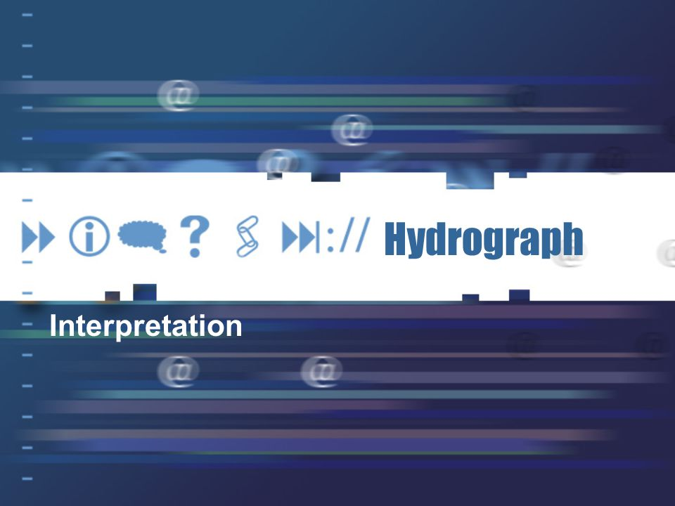 Hydrograph Interpretation