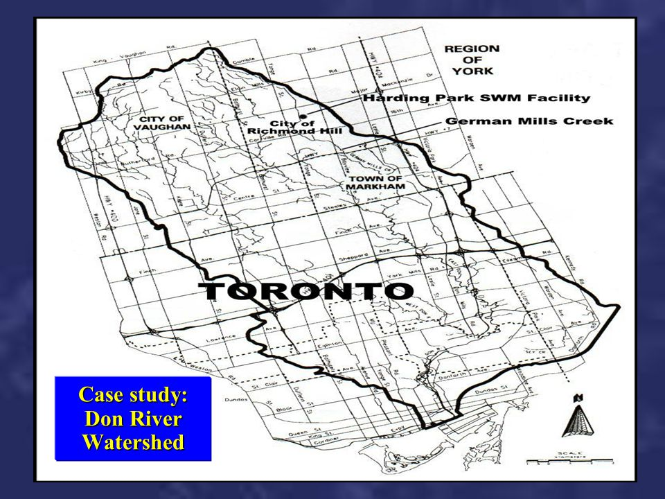 Case study: Don River Watershed