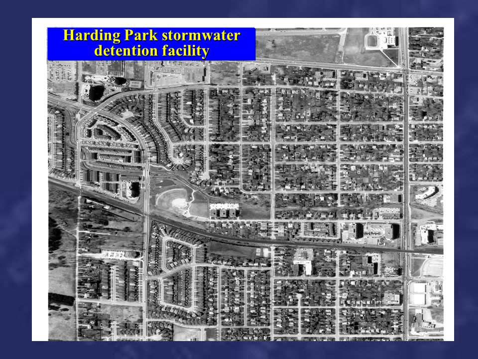 Harding Park stormwater detention facility