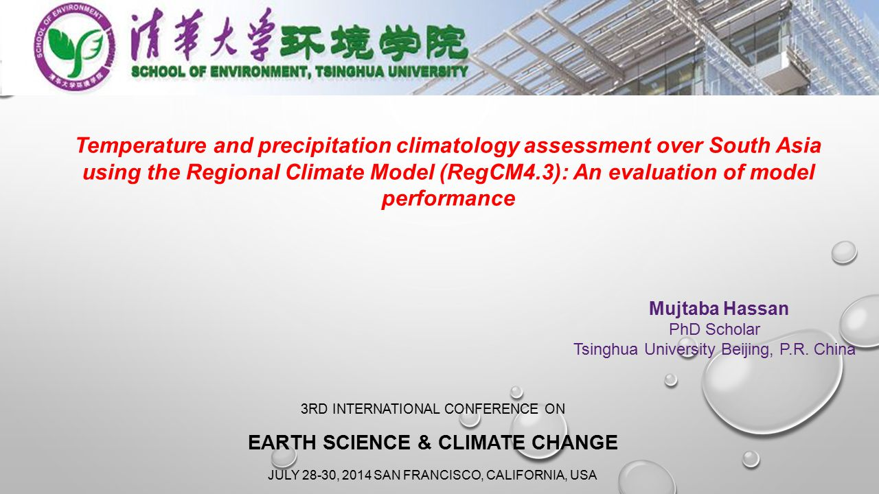 Earth Science & Climate Change
