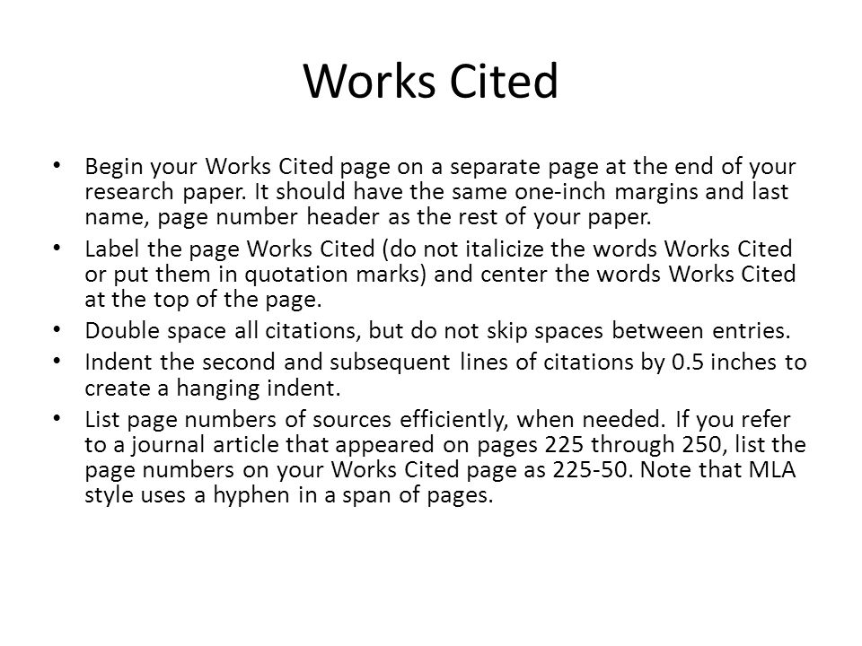 cited page paper research work