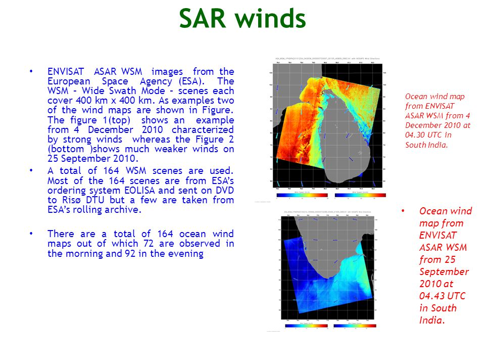SAR winds