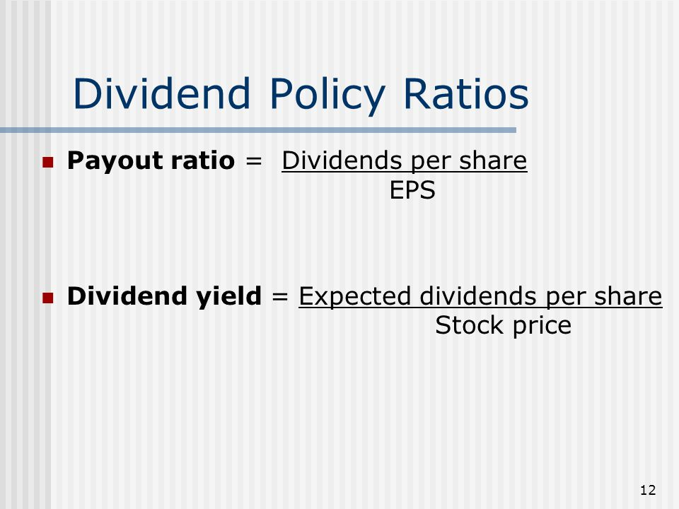 dividend policy and share market price The impact of dividend decision on the share price volatility in the indian stock market is the subject matter of this study using the correlation analysis and the least square.