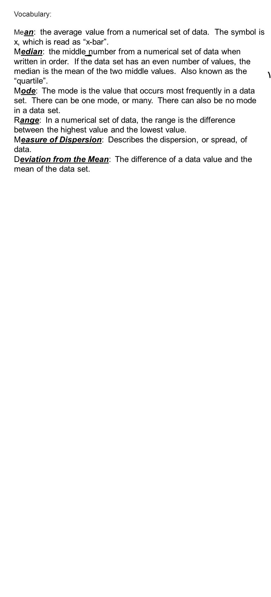 Unit 4 describing data ppt video online download 4 measure biocorpaavc Images