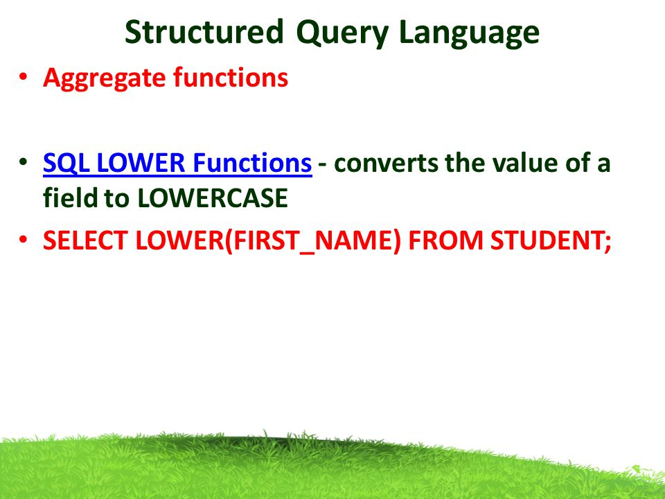 """structured query language development The sql part of """"mysql"""" stands for """"structured query language"""" sql is   mysql server was originally developed to handle large databases much faster  than."""