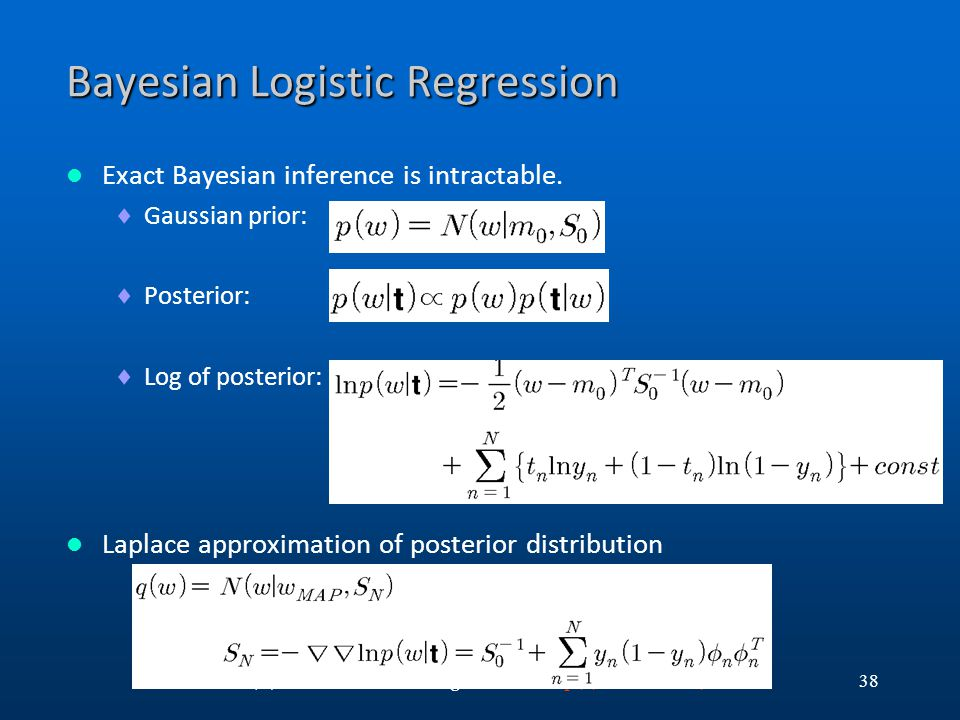 Bayesian Logistic Regression